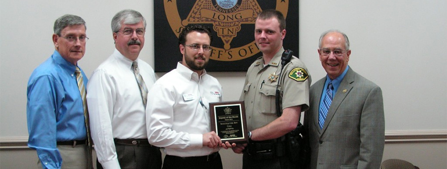 Williamson County Sheriff's Officer Honored With Deputy of