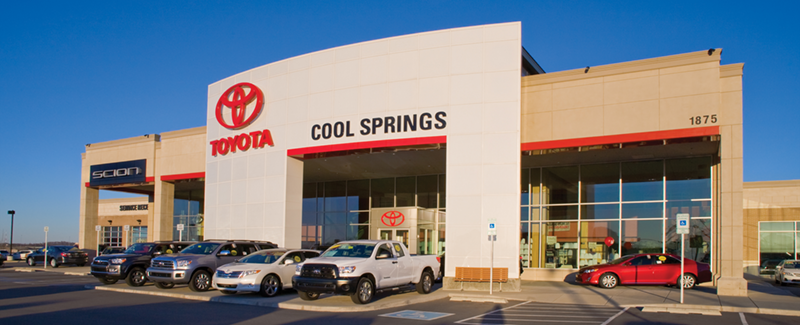 toyota of cool springs: one of the top places to work in tennessee