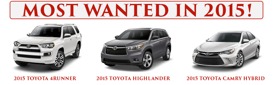 Toyota Cars List >> America S 12 Most Wanted Cars Toyota Takes Up 3 Spots On